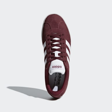 Women Lifestyle Burgundy VL Court 2.0 Shoes