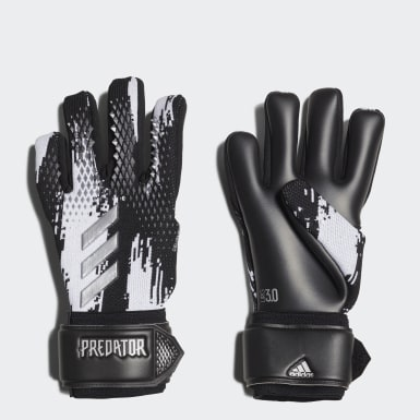 Football Black Predator 20 League Goalkeeper Gloves