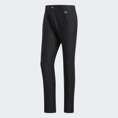Muži Golf černá Kalhoty Ultimate365 3-Stripes Tapered