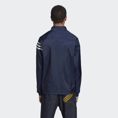 Men Originals Blue Human Made Windbreaker