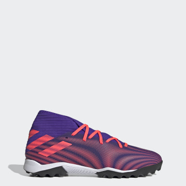 Men Football Purple Nemeziz .3 Turf Boots