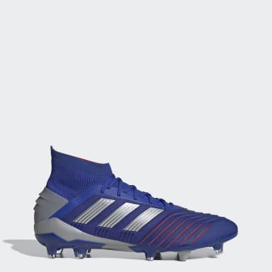 Football Blue Predator 19.1 Firm Ground Boots