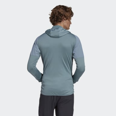 Heren TERREX Groen Terrex Skyclimb Fleece Jack