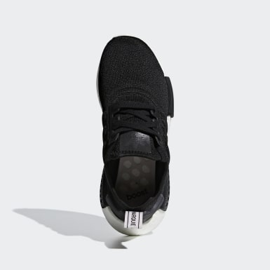 Women Originals Black NMD_R1 Shoes