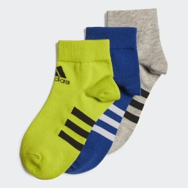 синий Три пары носков Ankle