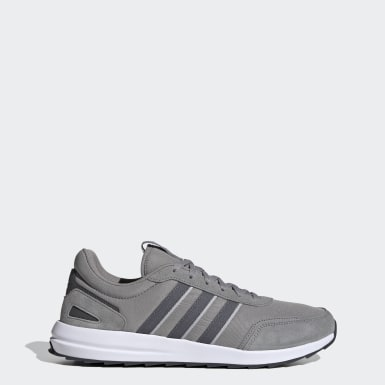Men Running Grey Retrorun Shoes