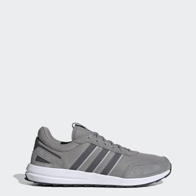 Sapatos Retrorun Cinzento Homem Running
