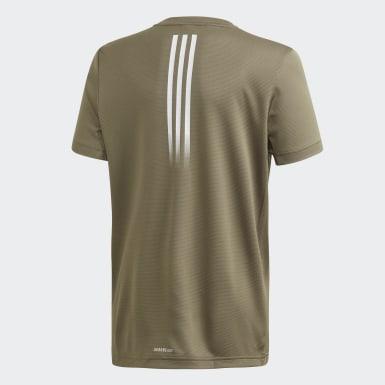 T-shirt AEROREADY Verde Ragazzo Yoga