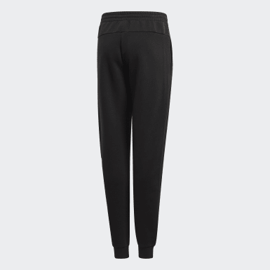 Girls Training Black Linear Pants