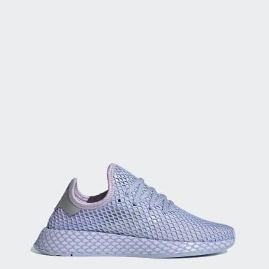 Women Originals Purple Deerupt Runner Shoes