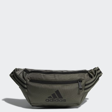 Sac banane Classic Badge of Sport Vert Hommes Training