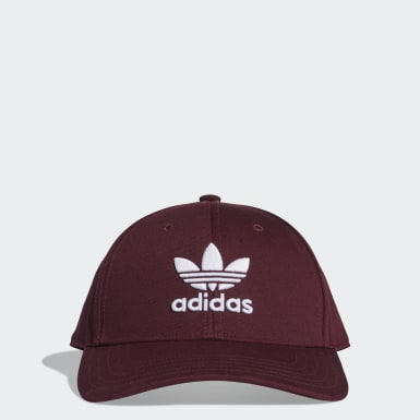 Gorra Trifolio Baseball Burgundy Originals