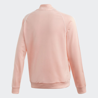 Dievčatá Originals ružová Tepláková bunda SST