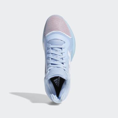 Dames Basketbal Blauw Marquee Boost Low Schoenen