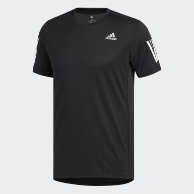 Men Running Black Own the Run Tee