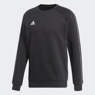 Sweat-shirt Core 18 Noir Hommes Training