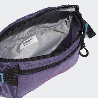Bolsa de Cintura Grande Premium Essentials Roxo Originals