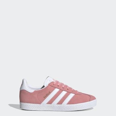 Sapatos Gazelle Rosa Criança Originals