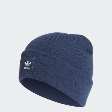 Gorro Beanie Adicolor Cuff Azul Originals
