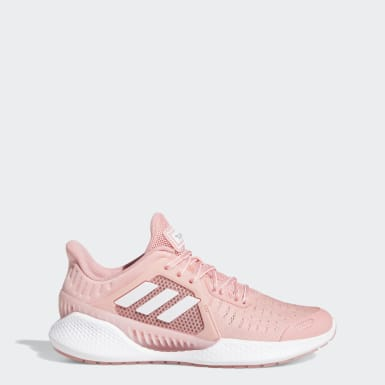Women Running Pink ClimaCool Vent SUMMER.RDY EM Shoes