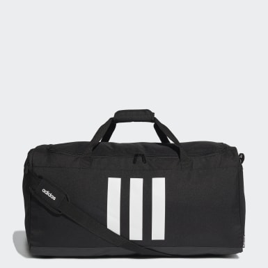 Training Black 3-Stripes Duffel Large