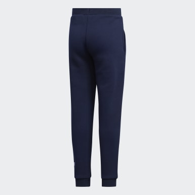 Girls Training Blue Style Spacer Pants