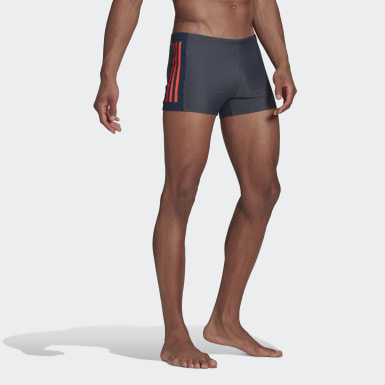 Men Swimming Grey Three-Second Swim Briefs