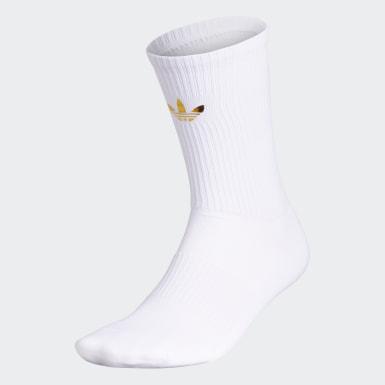 Men's Originals White Look to 2024 Crew Socks