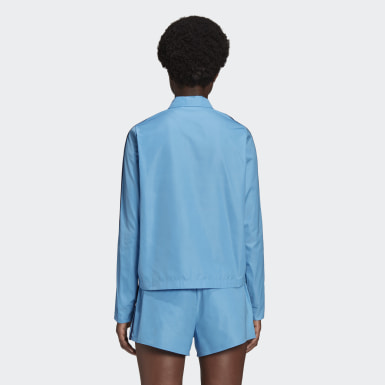 Women Originals Blue Lotta Volkova Zip Shirt