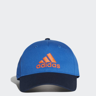 Kids Training Blue Graphic Cap
