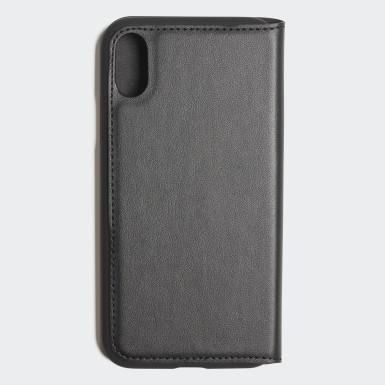 Originals Black Basic Logo Flip Case iPhone X