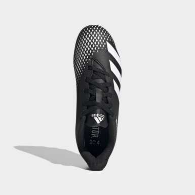 Children Soccer Black Predator Mutator 20.4 Flexible Ground Cleats