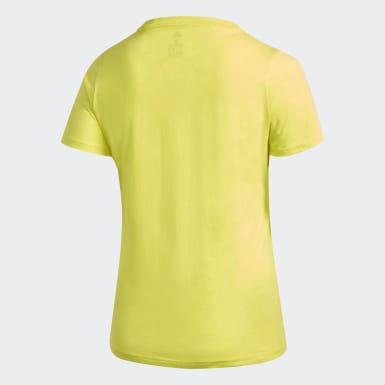 Frauen Athletics Must Haves Badge of Sport T-Shirt – Große Größen Gelb