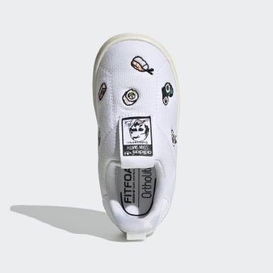 белый Кроссовки-слипоны Stan Smith 360