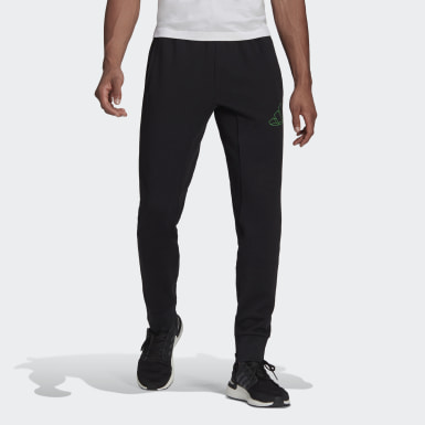 Men Athletics Black adidas Sportswear Graphic Pants