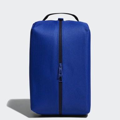 Men Training Blue Shoe Bag