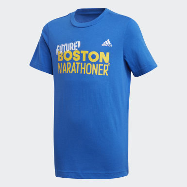 Youth Running Blue Boston Marathon® Future Marathoner Tee