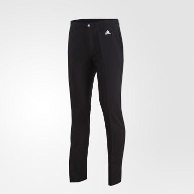 Pants 3 Franjas Negro Hombre Golf
