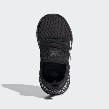 Toddlers 1-4 Years Originals Black Deerupt Runner Shoes