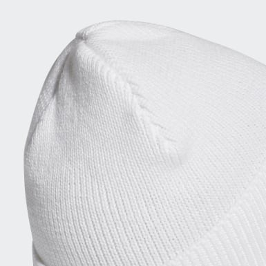 Football White Real Madrid Beanie