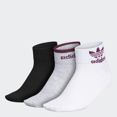 Women's Originals Multicolor Trefoil Shine Low-Cut Socks 3 Pairs
