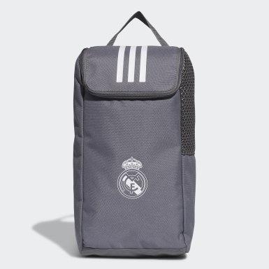 Bolsa para Calzado Real Madrid Gris Fútbol