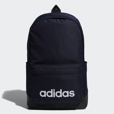 Sport Inspired สีน้ำเงิน กระเป๋าสะพายหลังทรงคลาสสิกขนาดใหญ่พิเศษ