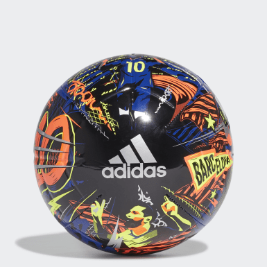 Fußball Messi Club Ball Blau