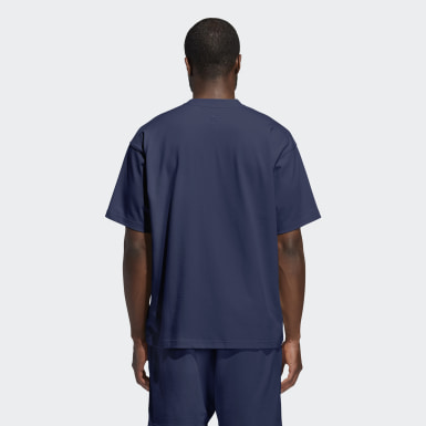 Originals Blue Pharrell Williams Basics Tee (Gender Neutral)