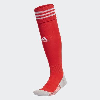 Meião AdiSocks Knee Vermelho Futebol