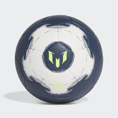 Fußball Messi Miniball Blau