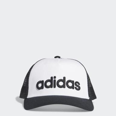 Essentials White H90 Linear Hat