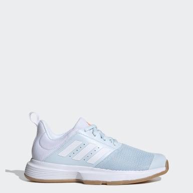 Frauen Korbball Essence Indoor Schuh Blau