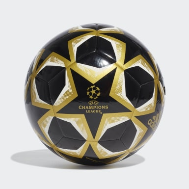 Men Football Black UCL Finale 20 Club Ball